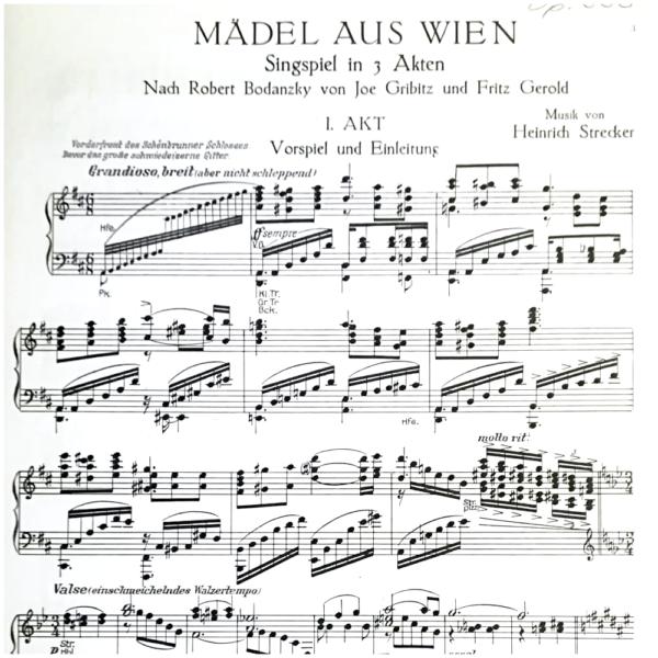 Mädel aus Wien