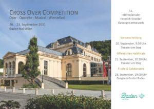 CROSS OVER COMPETITION @ Theater am Steg | Congress Center Baden | Baden-Württemberg | Deutschland